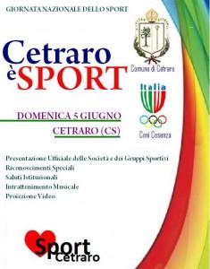 Festival dello sport a Cetraro