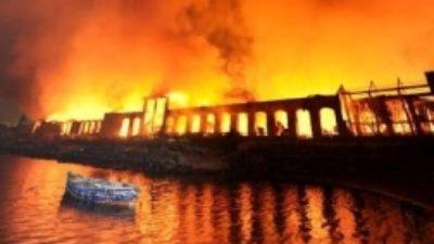 Incendio Città della Scienza: le parole di De Magistris su Twitter