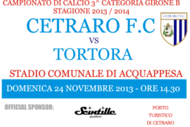 Cetraro F.C. – Tortora