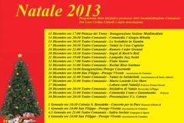 Il programma di Natale 2013