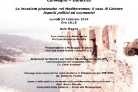 Le invasioni piratesche nel Mediterraneo: il caso di Cetraro. Aspetti politici ed economici