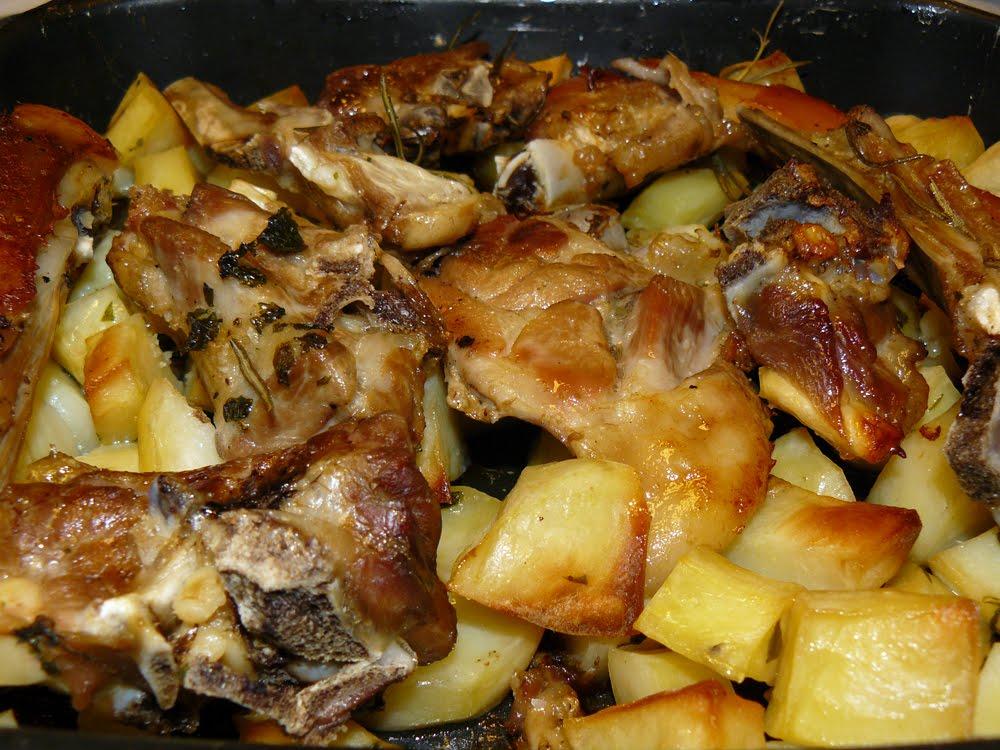 Agnello Al Forno Con Patate La Cucina Di Bacco Solo