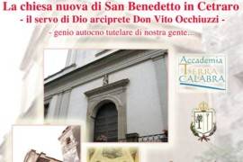 """Evento: """"La chiesa nuova di San Benedetto in Cetraro"""""""
