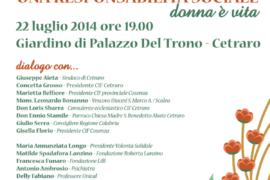 Centro Italiano Femminile: la presentazione domani a Palazzo Del Trono