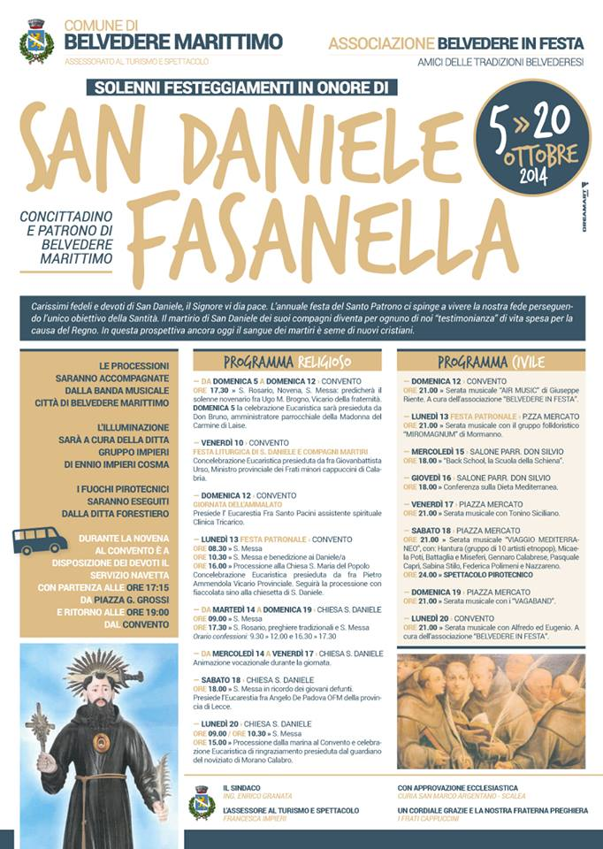 Progamma San Daniele