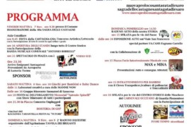 40esima Sagra della Castagna a Sant'Agata di Esaro: caldarroste gratis per tutti. Il programma