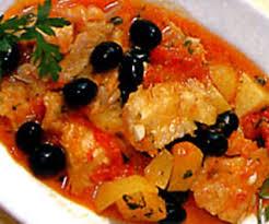 Stoccafisso con patate e olive