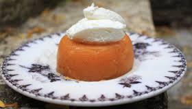 gelatina di prosecco e arance