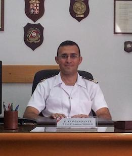 Il Tenente di Vascello Andrea Chirizzi