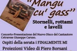 Giuseppe Caruso presenta il suo nuovo album