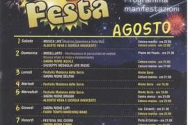 Programma eventi di Cetraro agosto 2015
