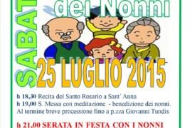 Festa di Sant'Anna e Festa dei Nonni a San Filippo: i programmi