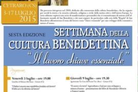 Settimana della Cultura Benedettina: il programma completo