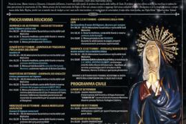Settenario di Preghiera in onore della  Beata Vergine Addolorata a San Filippo: il programma completo