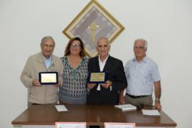 Torneo di briscola presso il Centro Sociale Anziani: la foto della premiazione
