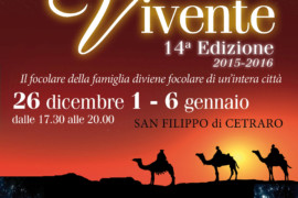 Presepe vivente di San Filippo: 14esima edizione