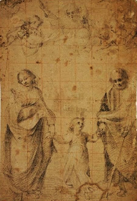 Copenaghen Statens museum for kunst Trinitas terrestris (1604-07)