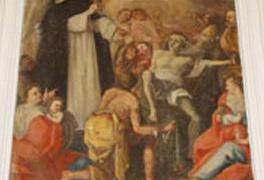 Stefano Liguoro nella chiesa di san Domenico a Cosenza