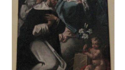 Genesio Galtieri nella chiesa dell'Immacolata di Diamante