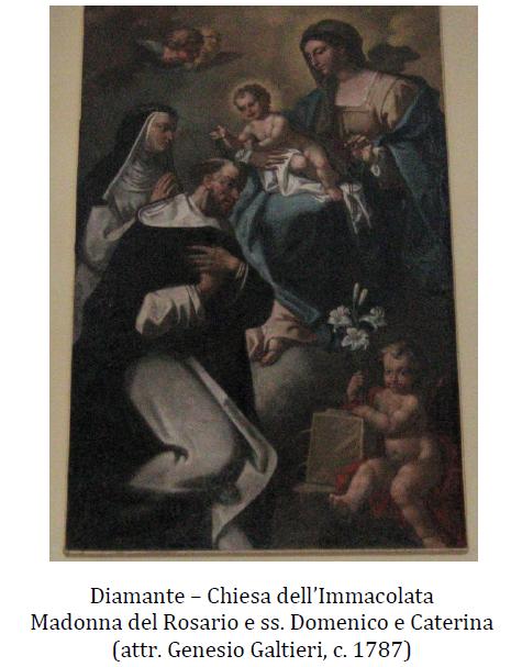 Madonna del Rosario e ss. Domenico e Caterina