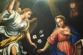 Domenico Basile nella chiesa di s. Barbara a Davoli