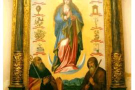 Giovan Bernardo Azzolino nella chiesa della ss. Annunziata di Rose (CS)