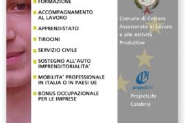 Projectlife Calabria: giorno 13 aprile la giornata informativa