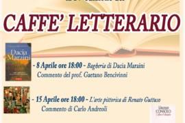 Il 29 Aprile l'utimo appuntamento del Caffè letterario del Centro Sociale Anziani