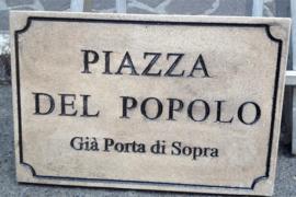 """Angilica: """"Abbiamo ridato il nome alle nostre strade storiche"""""""