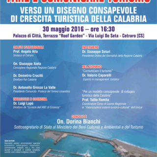 Calabria e Turismo: se ne parla a Cetraro