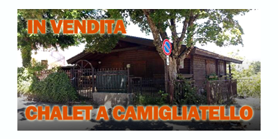 Chalet in vendita a Camigliatello