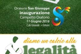 L'Oratorio San Giuseppe sabato inaugurerà un nuovo campetto da calcio