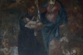 Domenico Oranges nella chiesa di s. Maria dell'Olmo a Castiglione Cosentino