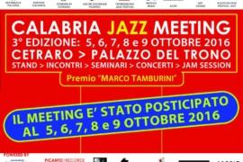 Cetraro ospiterà il Calabria Jazz Meeting 2016