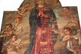 Gaetano Bellizzi nella chiesa di s. Giovanni Battista di Cosenza