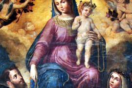 Giovan Bernardo Azzolino nella cappella di s. Nicola a Mormanno
