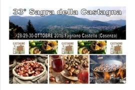 La sagra della castagna 2016 a Fagnano Castello