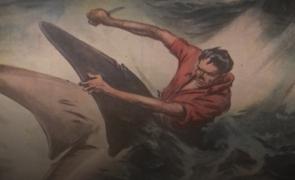 """""""Squali nel mare di Cetraro"""", 1949"""