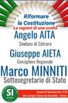 """Cetraro. Un incontro per il """"Si"""". Presente il Sottosegretario di Stato Marco Minniti"""