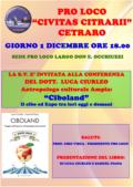 """Cetraro, presentazione del libro """"Ciboland. Viaggio nell'Expo tra antropologia ed economia"""""""