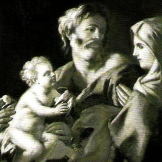 Paolo De Maio nella Pinacoteca del Santuario di Paola
