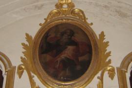 Un Dio Padre nella chiesa di s. Domenico a Cosenza