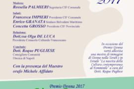 Premio Donna 2017 a Belvedere Marittimo: 19 marzo 2017 ore 17.00