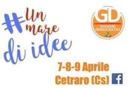 Un mare di idee per idee da amare: 7-9 aprile 2017, Cetraro