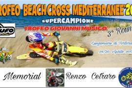 Tortora, al via Trofeo Beach Cross Mediterranee 2017