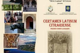 Certamen Latinum Citrariense VI edizione: domani la premiazione dei vincitori