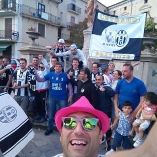 Lo Juventus Club di Cetraro festeggia lo scudetto