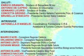 """Focus """"La Calabria che produce"""": oggi, ore 18, Belvedere M.mo"""