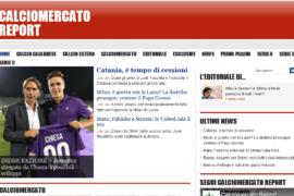 Nasce calciomercatoreport.it, il nuovo sito ideato e prodotto da Paolo Amedeo e Attilio Malena