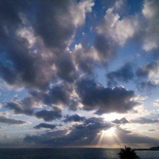 Il cielo a Cetraro (foto di Alessandra Garozzo)